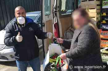 Corbeil-Essonnes : plusieurs centaines de colis alimentaires offerts aux personnes isolées - Le Parisien