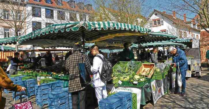 Heidelberg in Corona-Zeiten:  Diese neuen Regeln gelten auf den Wochenmärkten