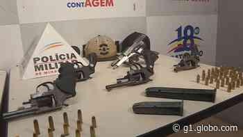PM é recebida a tiros em Contagem; 1 homem é preso e 2 adolescentes são apreendidos - G1
