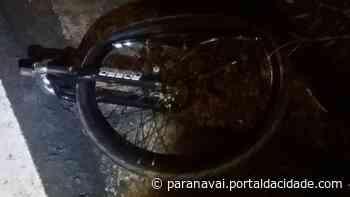 Ciclista morre em atropelamento na PR-182, em Loanda - ® Portal da Cidade | Paranavaí