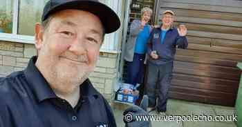 Johnny Vegas is delivering food to the vulnerable in St Helens