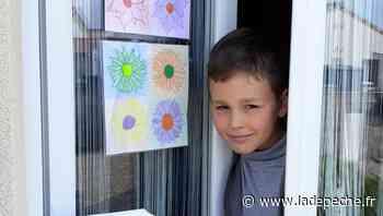 Fonsorbes. Des dessins aux fenêtres - LaDepeche.fr