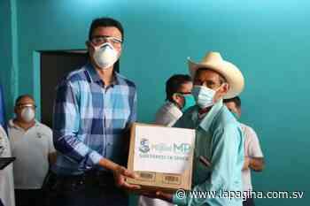 Miguel Pereira entrega 300 paquetes de higiene personal a ADESCOS de San Miguel - Diario La Página - Diario La Página
