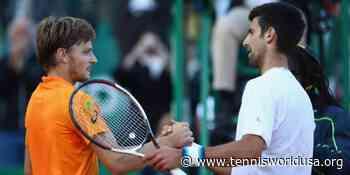 David Goffin praises Novak Djokovic and Vasek Pospisil for job on ATP Player Council - Tennis World USA