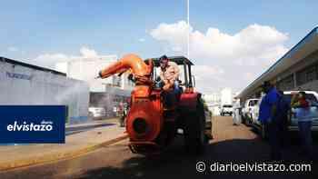 Nueva jornada de desinfección ejecutaron en San Tomé y El Tigre - Diario El Vistazo