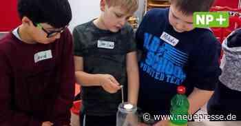 Ronnenberg - Baldur zeigt seine Experimente nur an einer Grundschule - Neue Presse