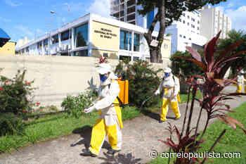 Vila Yolanda em Osasco recebe operação de desinfecção nesta semana - Correio Paulista