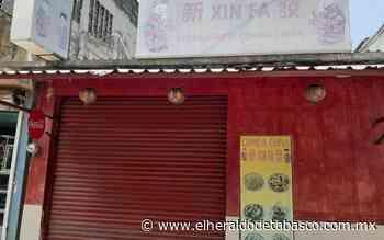 Cierran locales chinos en Huimanguillo - El Heraldo de Tabasco