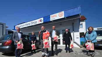 Corona Ulm/Neu-Ulm: Großzügige Spenden für Tafelläden im Kreis Neu-Ulm und Alb-Donau-Kreis - SWP