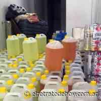 Coronavirus: La Administración de Punta Mogotes dona productos de higiene y desinfección - El Retrato de Hoy