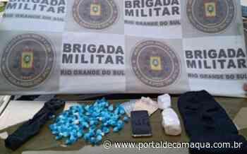 Brigada Militar prende homem por tráfico de drogas em Esteio - Portal de Camaquã