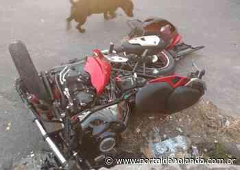 Motociclista morre após colidir com viatura da polícia em Manaus - Portal do Holanda
