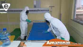 Forças Armadas descontaminam setores e ambulâncias de HPS em Manaus - EM TEMPO