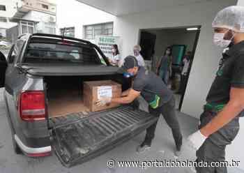Grupos de apoio a idosos em Manaus recebem mais de 5 mil garrafas de álcool em gel - Portal do Holanda