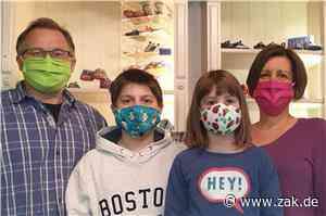 Mit Maschinen aus dem Keller: Textilunternehmer aus Dotternhausen produziert jetzt Masken - Zollern-Alb-Kurier