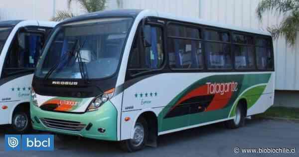 Buses interurbanos de Talagante y Peñaflor paralizan ante avance del coronavirus - BioBioChile