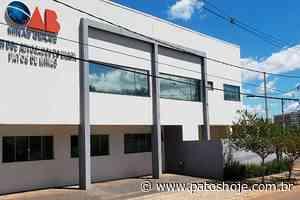 Entidades e órgãos jurídicos de Patos de Minas organizam campanha pelo combate à Covid-19 - Patos Hoje - Notícias de Patos de Minas