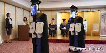 Robots replace university students in Zoom graduation ceremony     - CNET