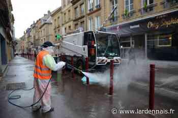 Le grand nettoyage pour lutter contre le coronavirus a commencé à Sedan - L'Ardennais