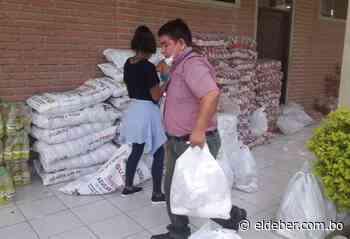 En Pailón alistan entrega de víveres a 6.000 familias de escasos recursos - EL DEBER