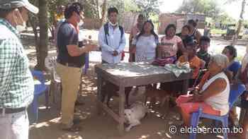 Cuarentena: familias de comunidades ayoreas de Pailón reciben alimentos - EL DEBER