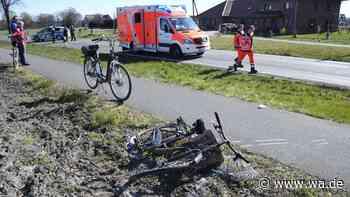 Unfall in Rietberg-Druffel: Radfahrer von Auto erfasst - Hubschrauber im Einsatz | Nordrhein-Westfalen - wa.de