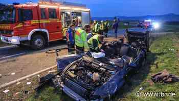 Autounfall bei Bad Staffelstein – drei Verletzte - BR24
