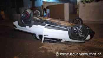 Nova Andradina – Dois homens ficam feridos em acidente ocorrido na noite deste sábado (04) - Nova News