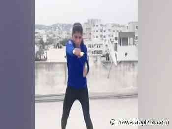 Nikhat Zareen's boxing training on terrace goes viral | Viral Punch - ABP Live