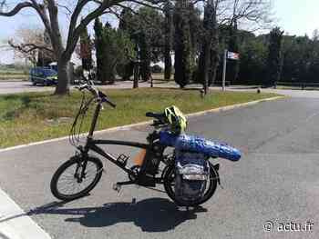 Autoroute A9. Entre Nîmes et Montpellier : le cambrioleur se déplaçait avec son butin...à vélo ! - actu.fr