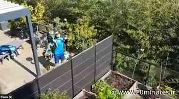 Coronavirus à Montpellier : Confinés, un prof de tennis et son voisin s'affrontent par-dessus le mur de leurs… - 20 Minutes