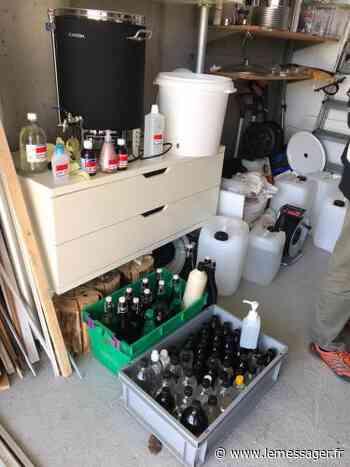 Divonne-les-Bains : Face à la pénurie, une pharmacie confectionne une solution hydroalcoolique - Le Messager