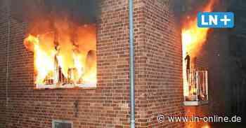Frau in Gewahrsam - Brandstiftung vermutet: Verwirrte Frau zündet Wohnung in Geesthacht an - Lübecker Nachrichten