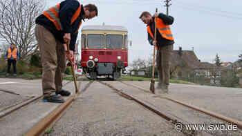 Lokalbahn Amstetten-Gerstetten: Fahrverbot: Corona stoppt UEF-Dampfzüge - SWP