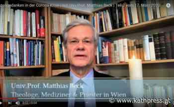 """Fastengedanken in der Krise"": Theologe Beck startet Video-Blog - Kathpress"