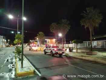 Sousa: homens ignoram isolamento e são presos - MaisPB