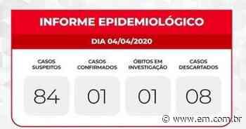 Coronavírus: Sarzedo confirma primeiro caso na cidade e investiga um óbito - Estado de Minas