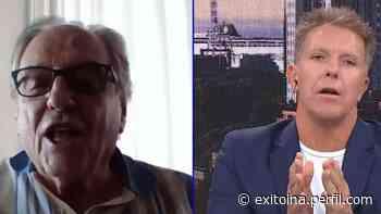 Picante cruce entre Alejandro Fantino y Carlos Heller en vivo - Exitoína
