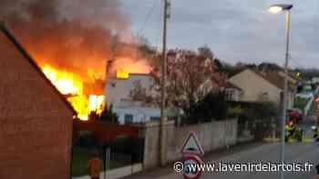 Incendie : Noeux-les-Mines: une maison prend feu dans un quartier résidentiel - L'Avenir de l'Artois