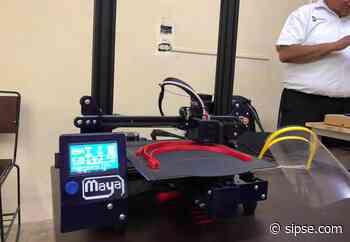 Alumnos de Oxkutzcab fabrican caretas con impresora 3D para personal médico - sipse.com