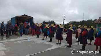 Coronavirus: Municipio de Cajabamba descentraliza venta de alimentos - LaRepública.pe