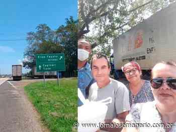 Solidariedade: moradores de Elias Fausto fazem marmitas para dar a caminhoneiros - Jornal O Semanário