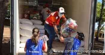 Cerca de cinco toneladas de alimentos foram arrecadados em Santa Maria - Jornal Correio do Povo