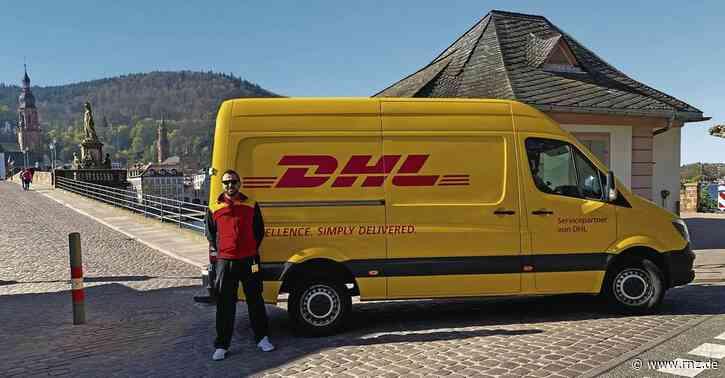 Heidelberg:  Wie ein Paket-Zusteller in Corona-Zeiten arbeitet