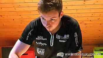 Hilpoltstein: Mit dem Roboter auf dem Dachboden - Tischtennis-Talent Sebastian Hegenberger vom TV Hilpoltstein ist derzeit zum Home-Training verbannt - Abiturvorbereitung online - donaukurier.de