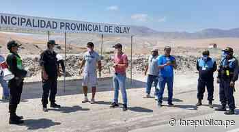 Arequipa: Instalarán puestos de control en Cocachacra y Punta de Bombón - LaRepública.pe