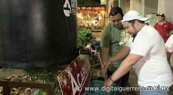 Ayuntamiento instala tinaco de prueba para fomentar el lavado de manos en la vía pública - Digital Guerrero