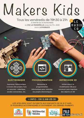 Atelier Makers Kids CSC La Passerelle Montlouis-sur-Loire 21 février 2020 - Unidivers