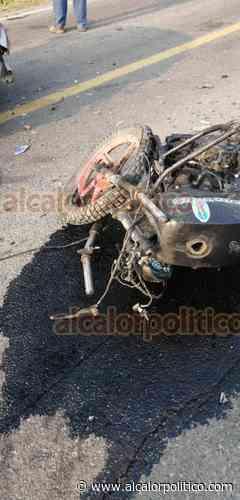 Muere motociclista tras ser colisionado por un automóvil, en Cosamaloapan - alcalorpolitico