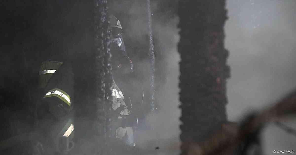 Gartenhaus in Friedrichsdorf abgebrannt - Neue Westfälische